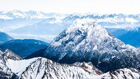 European alps Royalty Free Stock Photo