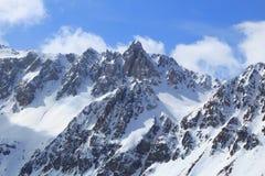 European Alps winter Stock Photos
