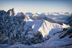 European alps Stock Photo