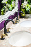 European antique faucet Royalty Free Stock Photo