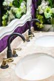 European antique faucet Royalty Free Stock Photo