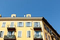 European apartment building Royalty Free Stock Image
