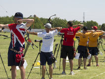 European archery championships, 2014 Royalty Free Stock Photography