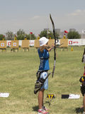 European archery championships, 2014 Royalty Free Stock Images
