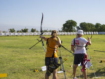 European archery championships, 2014 Royalty Free Stock Photo