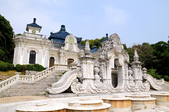 European architecture yuan ying guan Royalty Free Stock Photo