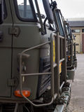 European army trucks Royalty Free Stock Photography