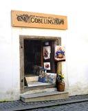 European Art Shop Stock Photo