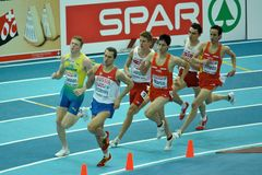 European Athletics Indoor Championships Royalty Free Stock Images