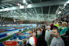 European Athletics Indoor Championships Stock Photos