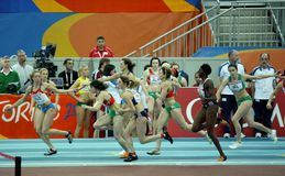European Athletics Indoor Championships Royalty Free Stock Photos