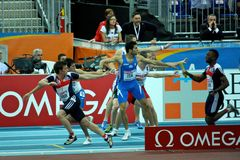European Athletics Indoor Championships Stock Photography