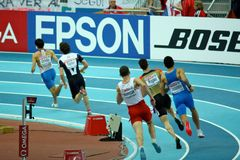 European Athletics Indoor Championships Royalty Free Stock Photography