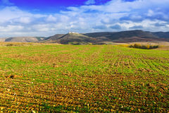 European autumn landscape Stock Photos