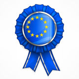 European award ribbon Royalty Free Stock Photography