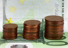 European banknotes, Euro currency from Europe.. Royalty Free Stock Photography