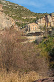 European benedictine mountain monastery Stock Images