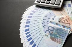 European bills Stock Images