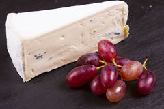 European blue cheeses Stock Images