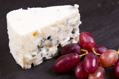 European blue cheeses Royalty Free Stock Images