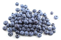 European blueberry fruits isolated Stock Photography