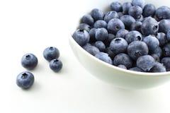 European blueberry fruits Stock Photo