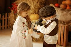 European boy and girl together. Love story Stock Photo