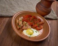 European breakfast Stock Photography