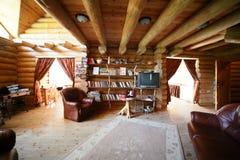 European bright and stylish interior Royalty Free Stock Photo