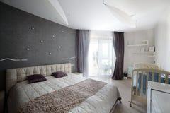 European bright and stylish interior Stock Photo