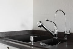 European bright and stylish water tap Stock Images