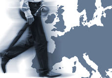 European Business Royalty Free Stock Photos