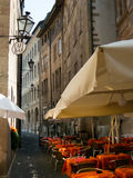 European cafe Royalty Free Stock Photos