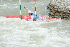 European Canoe Slalom Championships, Cunovo (SVK) Royalty Free Stock Image