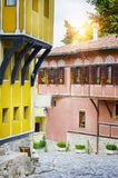 European Capital of Culture in 2019: Plovdiv Old Town, Bulgaria Stock Photos
