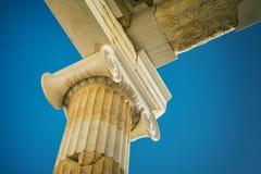 CITY OF ATHENS, ATTIKA GREECE. EUROPEAN CAPITALS, THE ACROPOLIS OF ATHENS, DETAIL, GREECE stock images