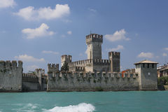 European castle Stock Photo