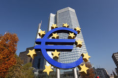 European Central Bank Royalty Free Stock Image