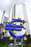 European Central Bank. Royalty Free Stock Photography