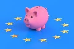 European Central Bank concept Royalty Free Stock Photos