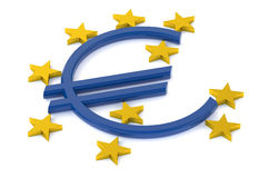 European Central Bank concept Stock Images
