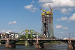 European Central Bank construction Stock Photos