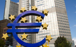 European Central Bank Royalty Free Stock Photos