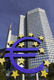 European Central Bank, Frankfurt Royalty Free Stock Photography
