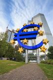 European Central Bank - Frankfurt - Germany Royalty Free Stock Photos