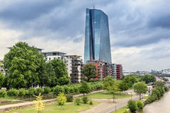 European Central Bank in Frankfurt Royalty Free Stock Photography