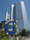 European Central Bank, Frankfurt Stock Photo
