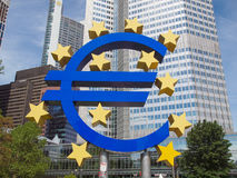 European Central Bank in Frankfurt Stock Images
