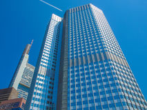 European Central Bank in Frankfurt Stock Photography