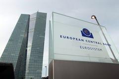 European Central Bank Royalty Free Stock Photos